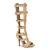 GLADIATOR-208 Tan Faux Leather